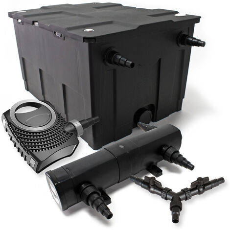 SunSun Kit filtration bassin 60000l 18W Stérilisateur NEO8000 70W Pompe