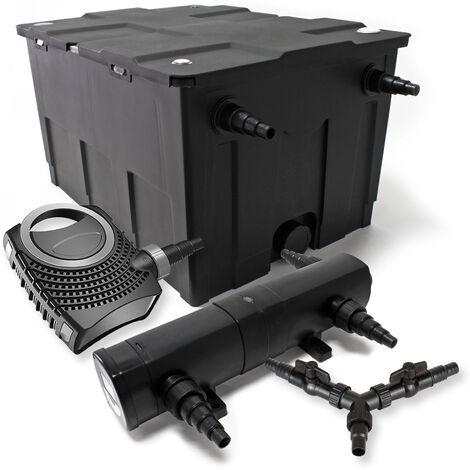 SunSun Kit filtration bassin 60000l 24W Stérilisateur NEO10000 80W Pompe