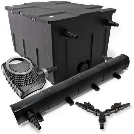 SunSun Kit filtration bassin 60000l 72W Stérilisateur NEO10000 80W Pompe