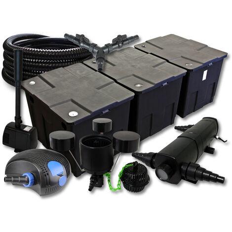 sunsun kit filtration de bassin 90000l avec 18w. Black Bedroom Furniture Sets. Home Design Ideas