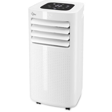 SUNTEC Climatiseur Mobile CoolFixx 2.0 Eco R290 - Climatiseur Portable 3 en 1 (2,1 kW) ~25 m² (7.000 BTU)
