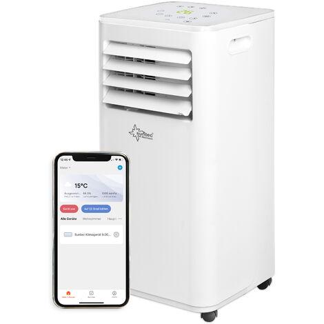 SUNTEC Climatiseur Mobile FREEZE 7.000 Eco R290, 3 en 1 : Refroidissement, ventilation, Déshumidification (7.000 BTU) Climatiseur Portable 2,1 kW ~25 m²