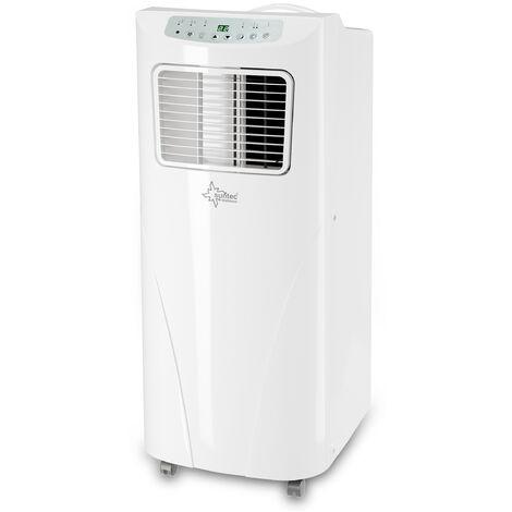 SUNTEC Climatiseur Mobile Fresh 9.000 Eco R290 - Climatiseur Portable 3 en 1: Refroidissement, Déshumidification et Ventilation (2,6 kW) ~80 m³/ 34 m² (9.000 BTU) [Classe énergétique A]