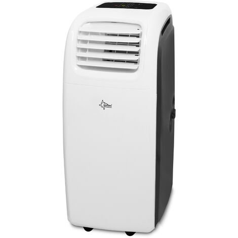 SUNTEC Climatiseur Mobile Reversible Transform 9.000 Eco R290 [6 en 1: Refroidissement, Chauffage, ventilateur, Déshumidificateur (2,5 kW) ~90 m³/ 38 m² (9.000 BTU)
