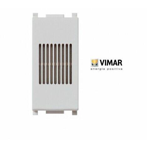 Suoneria 230 v~ 50-60 hz bianco plana apparecchio segnale acustico 14373 vimar