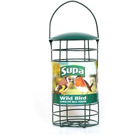 Supa Fat Ball Wild Bird Feeder (Large) (Green)