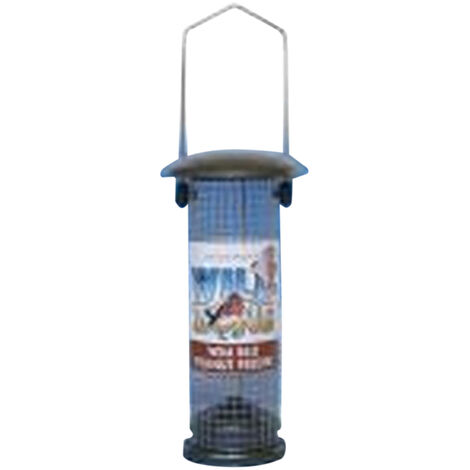 Supa Metal Peanut Bird Feeder (One Size) (May Vary)