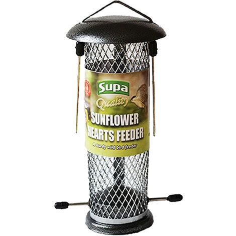 Supa Metal Sunflower Hearts Bird Feeder (One Size) (May Vary)