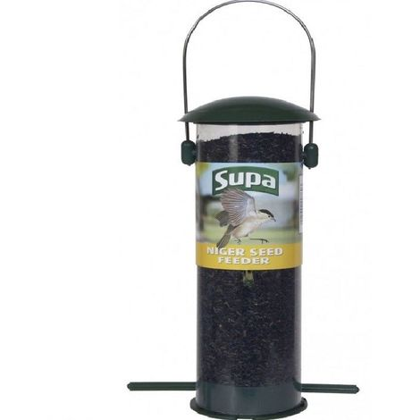 Supa Niger Seed Feeder With Tray
