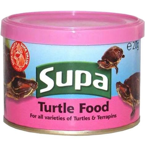 Supa Wasserschildkröten-Futter (20 g) (Mehrfarbig)