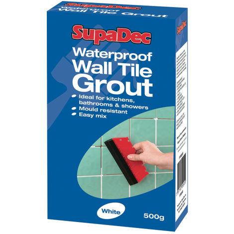 SupaDec Waterproof Wall Tile Grout 500g