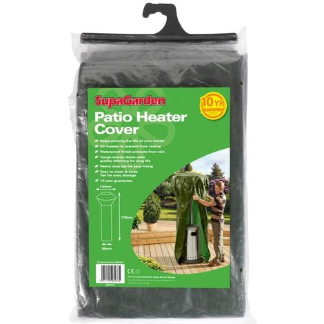 """main image of """"Supagarden Patio Heater Cover - Heavy Duty Zip For Easy Fixing - Easy To Clean"""""""