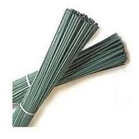 SupaGarden Support Canes 4.5/5mm Diameter x 60cm Green Split Canes Plant Support