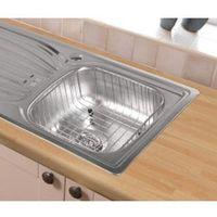 SupaPlumb Stainless Steel Wire Sink Basket - 375mm x 325mm