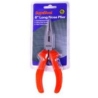"SupaTool Long Nose Plier 6""/150mm Rust Resistant Finish Heavy Duty Handle"