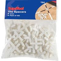 SupaTool Tile Spacers 4mm