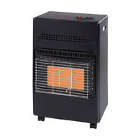 SupaWarm 4.2kW Portable Gas Cabinet Heater Calor 3 Heat Settings