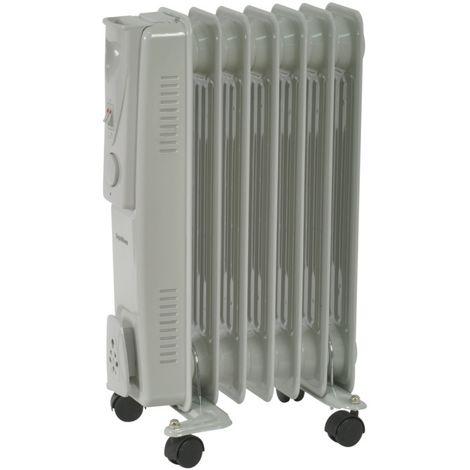 SupaWarm Oil Filled Radiator - 1500W - Thermostatic Control