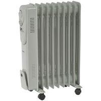 SupaWarm Oil Filled Radiator - 2000W - Thermostatic Control