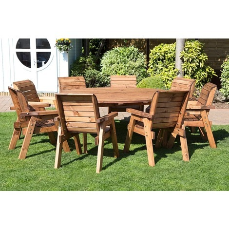 Super Deluxe Eight Seater Round Table Set HB11