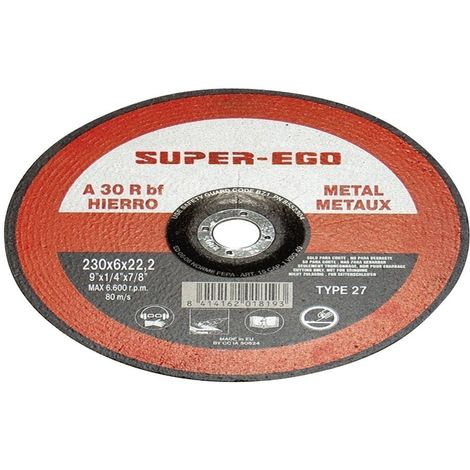 SUPER EGO 855115700 - Disco corte super cut metal 115x1