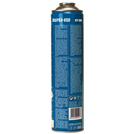 SUPER EGO M123506 CARTOUCHE GAZ 600ML