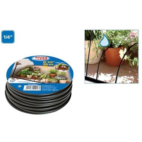 SUPER-EGO SD5004600 - micro pe tuyau irrigation 1/4 20m e.ego