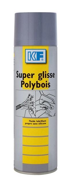 Super glisse poly bois aérosol 650ml/400ml - KF