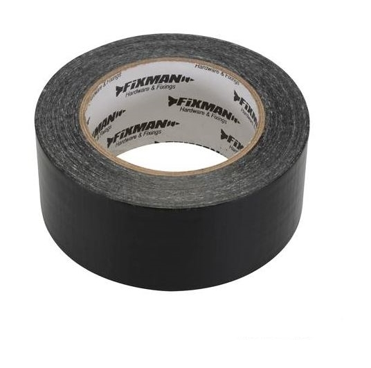 Yellow or White Fixman Builders Adhesive Tape 50mm x 33 Metres