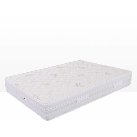 Super King Size mattress waterfoam 180x200x26cm removable cover PREMIUM