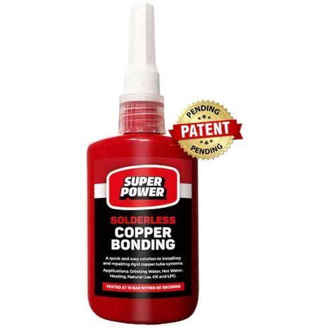 Super Power Solderless Copper Bonding 60 Second Bond 50ML Bottle PGPSPCB