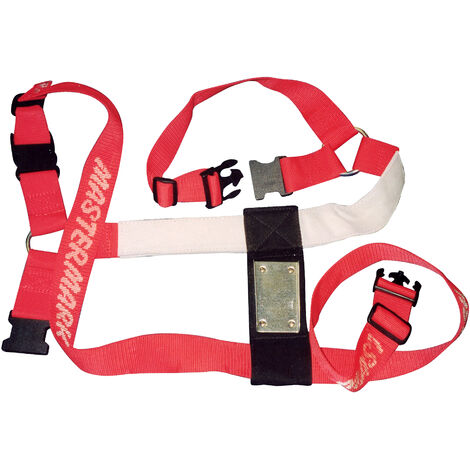 Super Red Ram Harness (One Size) (Black/Red)