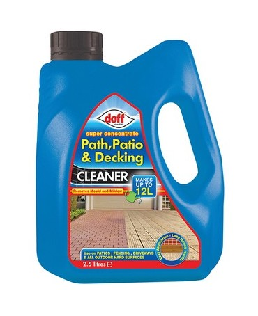 Image of Doff FNAB50DOF Super Concentated Path Patio and Decking Cleaner