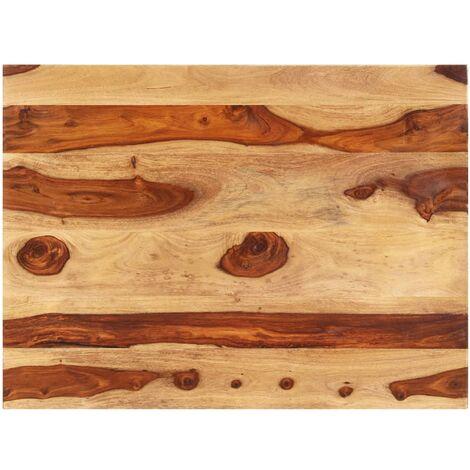 Superficie de mesa madera maciza de sheesham 15-16 mm 60x70 cm