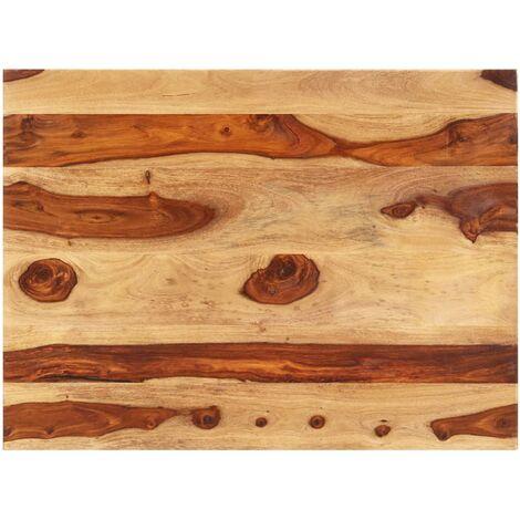 Superficie de mesa madera maciza de sheesham 15-16 mm 70x90 cm