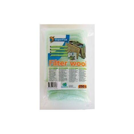 SuperFish Filter Media Coarse Wool Green 250g x 1 (60316)