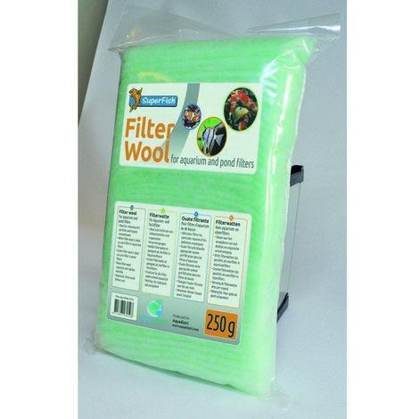 SuperFish Filter Media Coarse Wool Green 500g x 1 (60317)