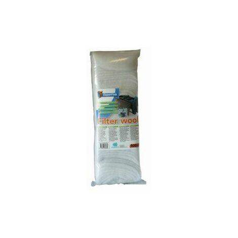 SuperFish Filter Media Fine Wool White 500g x 1 (60313)