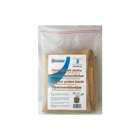 "main image of ""SuperFish Pond Basket Cloths 60x60cm (5Pcs) - 696335"""