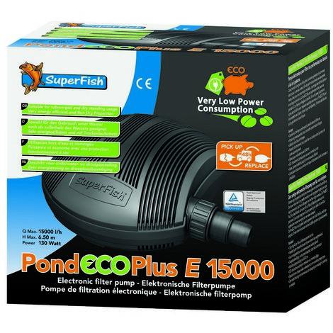 SuperFish Pond ECO Plus E 15000 130w 15,000L/h x 1 (676189)