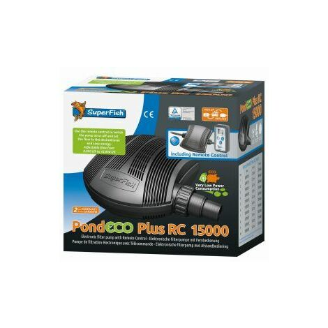 SuperFish Pond Eco Plus E Remote Control 15000 x 1 (676198)