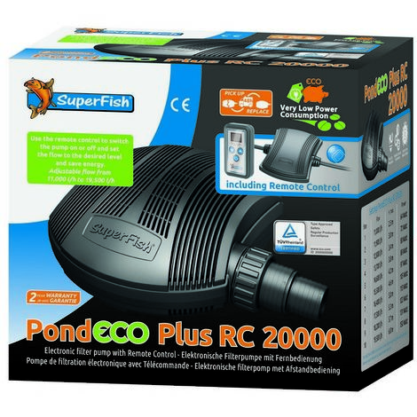 SuperFish PondECO Plus RC 20000 x 1 (54658)