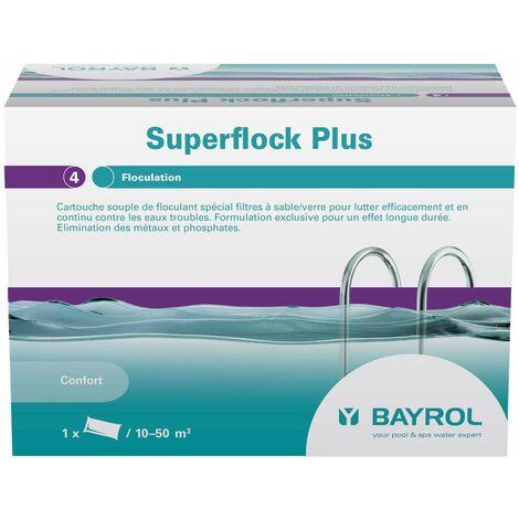 Superflock Plus - Cartouches de Bayrol - Produits chimiques