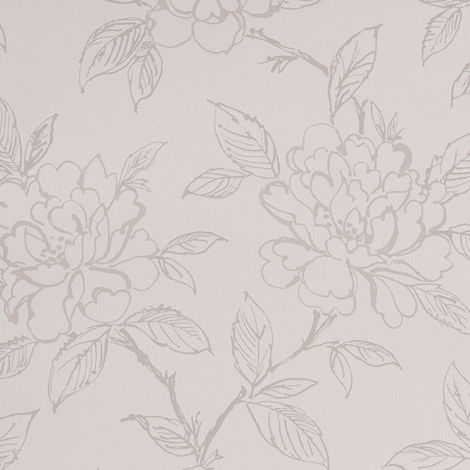 Superfresco Bloom Floral White Wallpaper (Was £16)