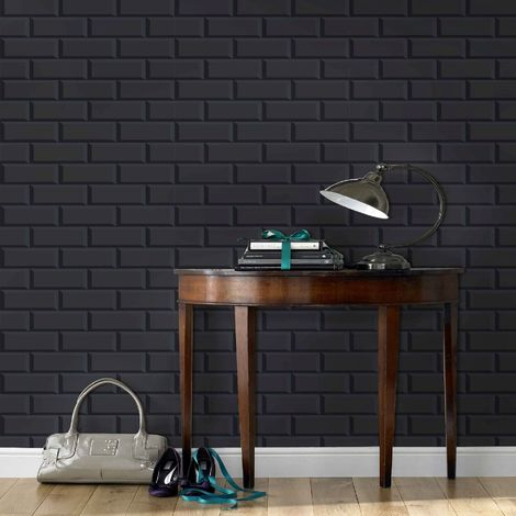 Superfresco Easy Black Parisio Wallpaper (Was £15)
