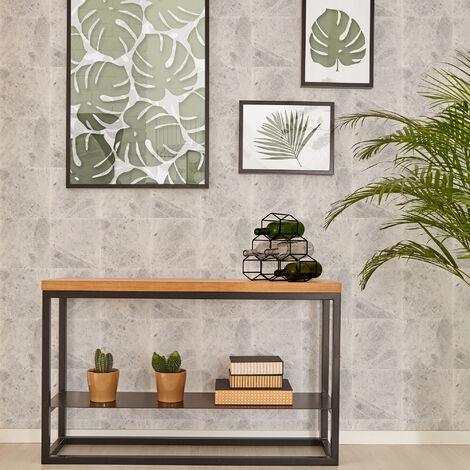 Superfresco Easy Grey Menara Marbre Tiled Wallpaper (Was £16)