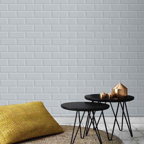 Superfresco Easy Grey Parisio Wallpaper