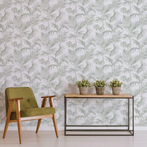 Superfresco Easy Litho Tropical Green Wallpaper
