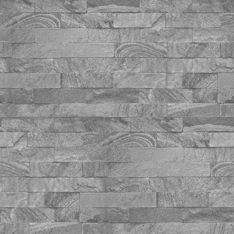 Superfresco Easy New Brick Paste the wall Grey Wallpaper