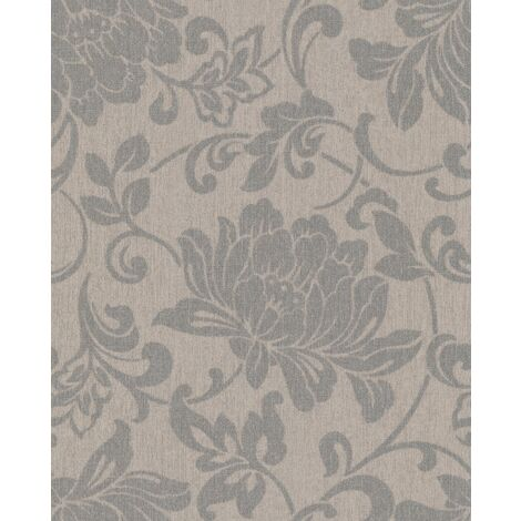 Superfresco Easy Paste the wall Jacquard Floral Natural Wallpaper (Was £16)
